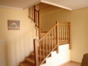 stairs from lounge